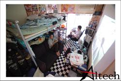 上級生の部屋